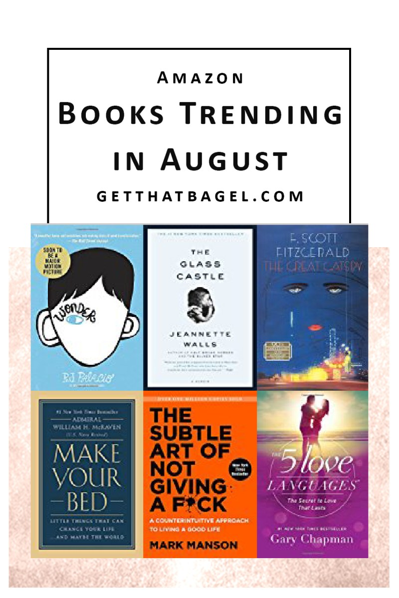 Books Trending on Amazon that You can Buy Today!
