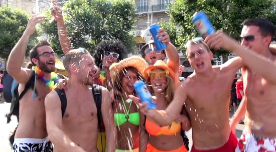 Geneve Lake Parade people