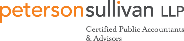 Peterson Sullivan LLP - thanks to our Sponsors!