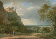 Classical Landscape / Valenciennes