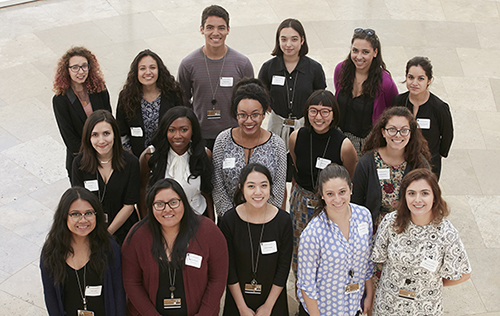 2016 Getty Multicultural Undergraduate interns