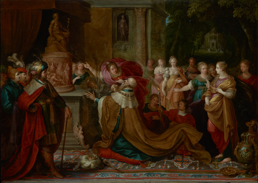 Image result for idolatry painting