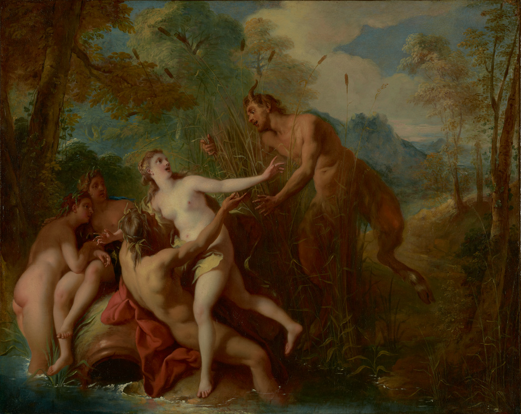 Image result for pan and syrinx