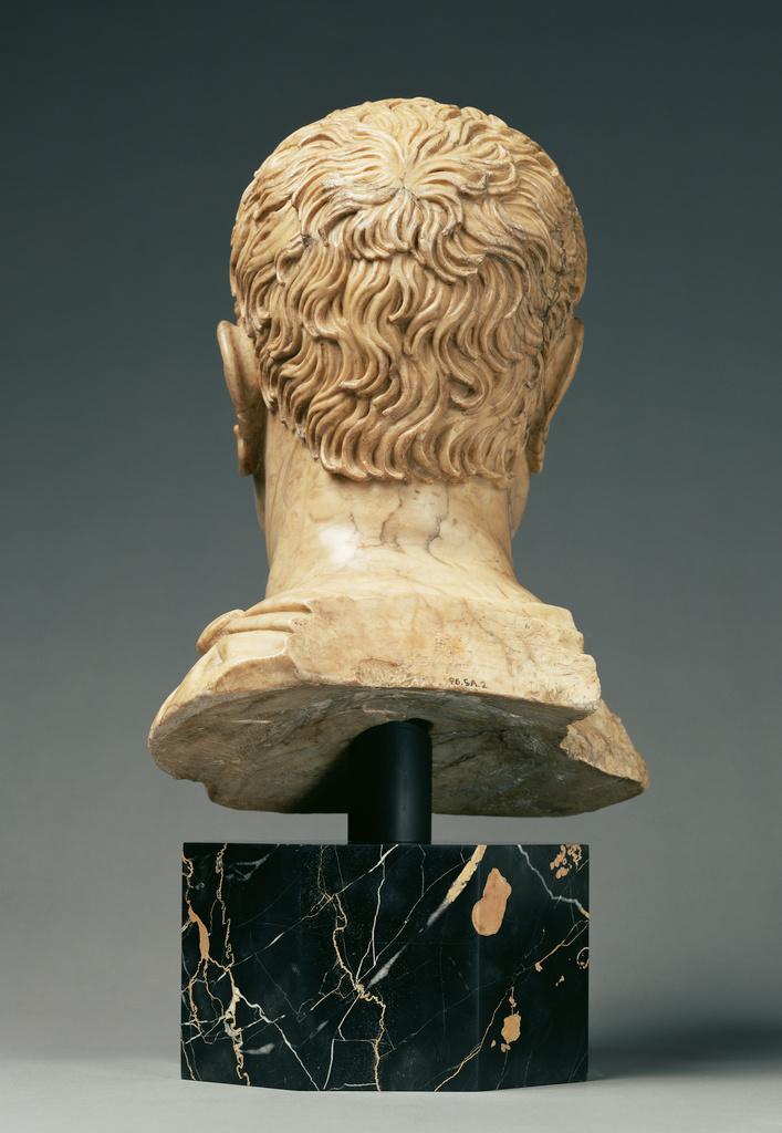 Head Of A Man Possibly A Portrait Of Cicero 106 43 B C
