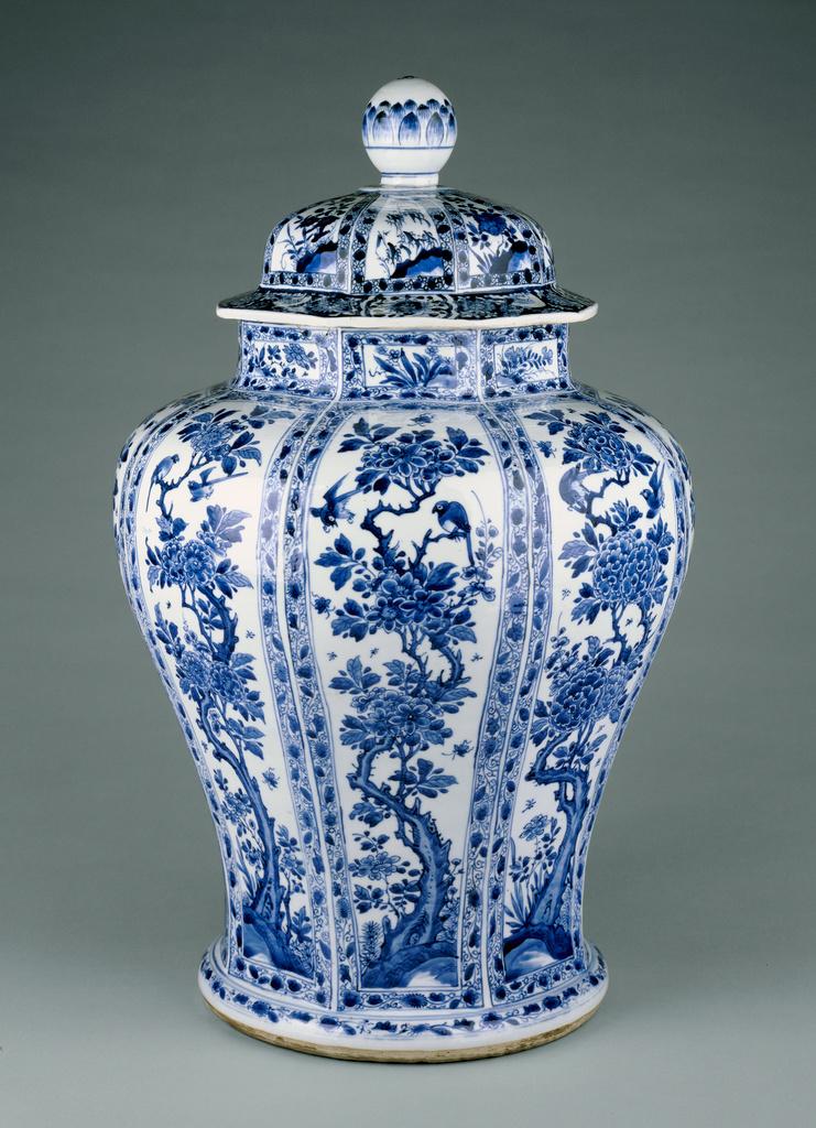 Lidded Vase Getty Museum