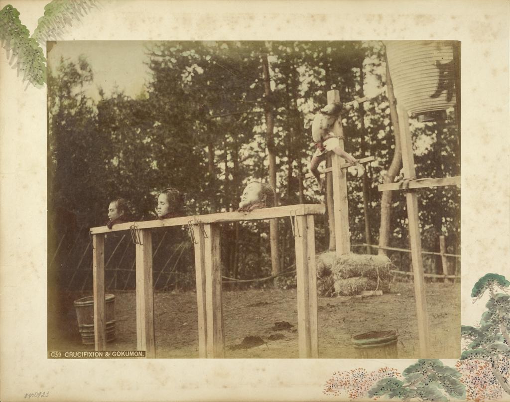 Crucifixion And Gokumon Getty Museum