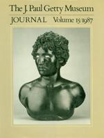 The J. Paul Getty Museum Journal: Volume 15/1987