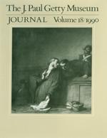 The J. Paul Getty Museum Journal: Volume 18/1990