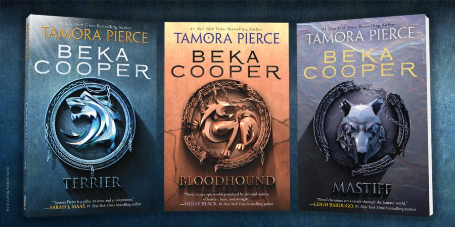 The Beka Cooper Series by Tamora Pierce      Get Underlined Get ready to be swept away by the magic of the Beka Cooper trilogy by the  legendary Tamora Pierce    now with a fresh new look  With a smart  savvy  heroine