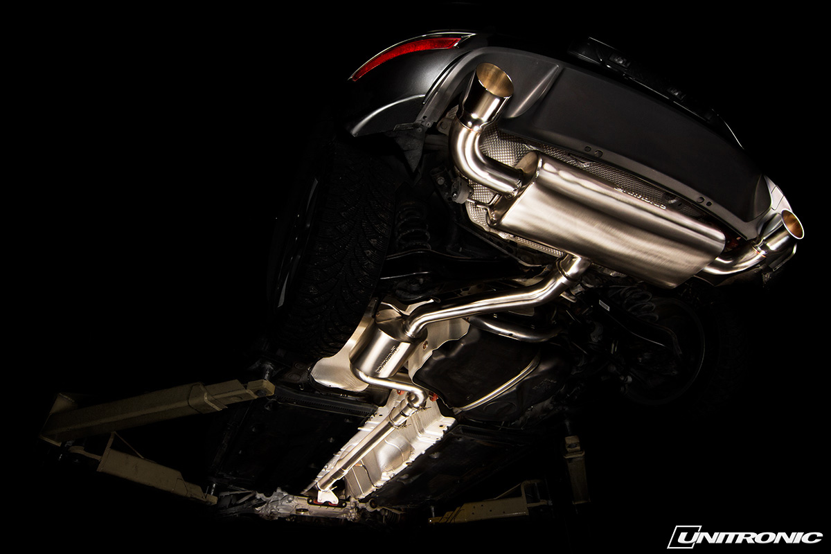 unitronic mk6 gti turbo back exhaust system