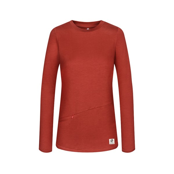 bleed-clothing-1750f-super-active-tencel-sweater-ladies-red