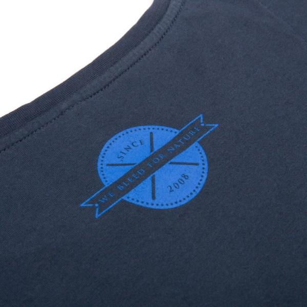 bleed-clothing-1645f-pineapple-t-shirt-damen-dunkelblau-detail-04