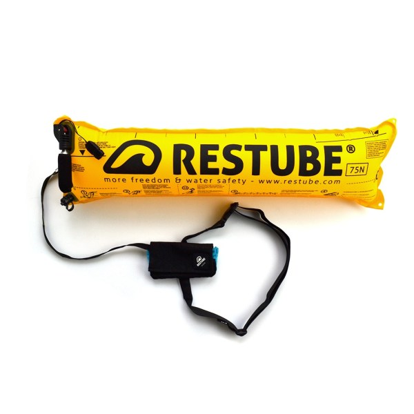 Restube active - black icemint - inflated