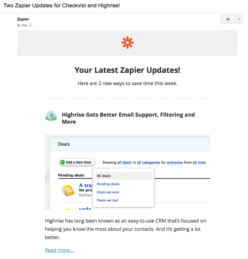 zapier email best practices