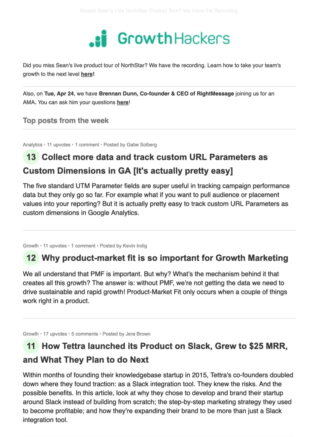 Email marketing best practices Growthhackers