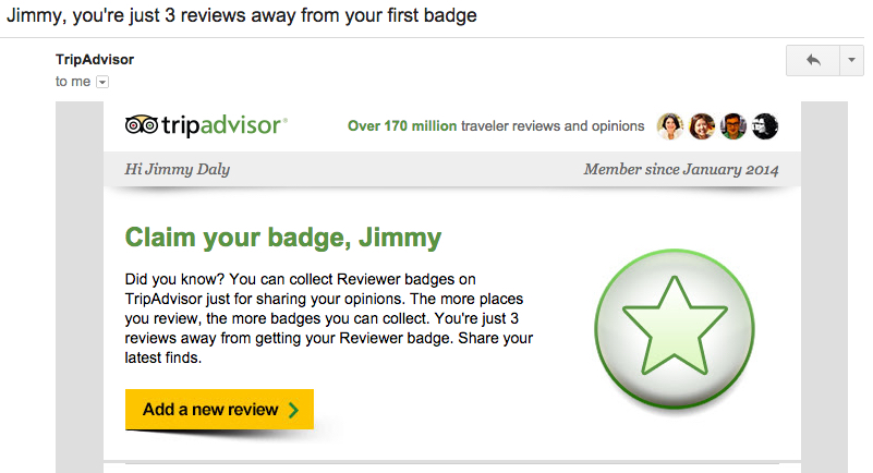 trip-advisor email best practices