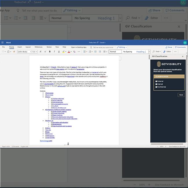 Getvisibility Synergy Lite document