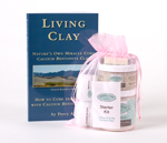 Living Clay Book and Clay