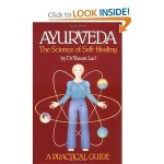 Ayurveda, the Science of Self Healing book cover