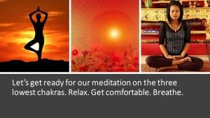 Infographic - Meditation Chakra Series My Persuasive Presentations, LLC