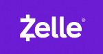 Zelle logo for electronic payments for HypnoMeditations