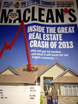 Toronto Real Estate Crash