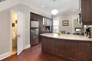 Leslieville kitchen