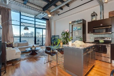 Wicked loft at Toy Factory in Liberty Village