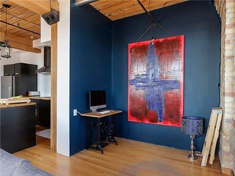 Noble Street Loft for Sale Office