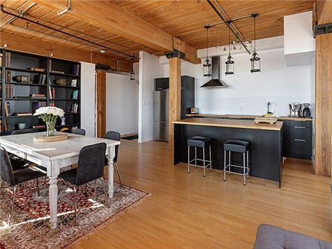 Noble Street Toronto Loft for Sale Kitchen