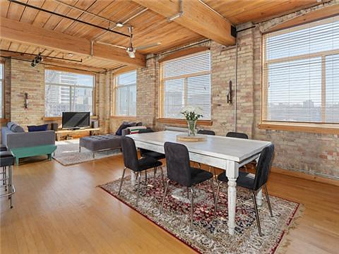 Toronto Noble Loft for Sale Dining