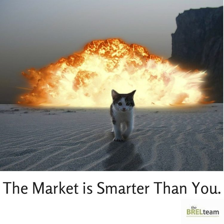 Market is Smarter Than You.