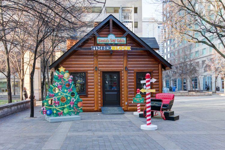 Santas Log Cabin