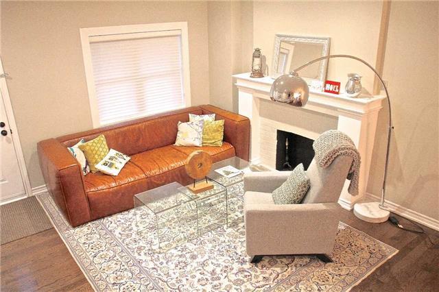 Upper Beach Toronto Living Room