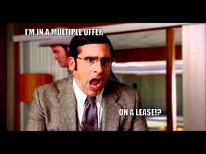 Multiple Offer on a Lease