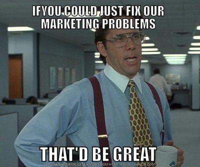 hiring - marketing manager