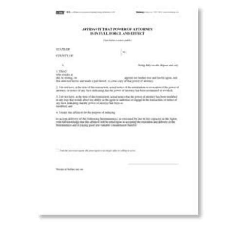 affidavit form template image 5