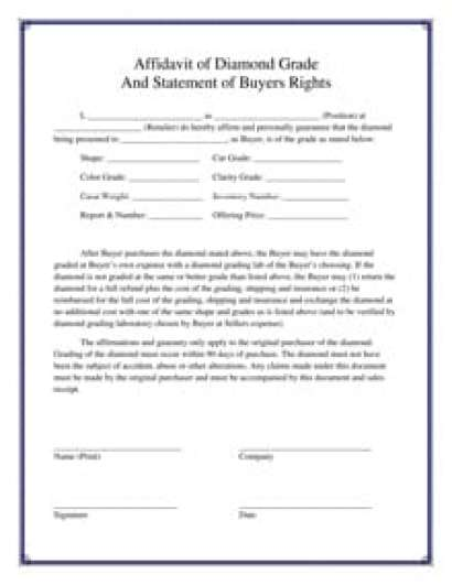 7 Affidavit Form Templates Word Excel PDF Formats – Affidavit Statement of Facts