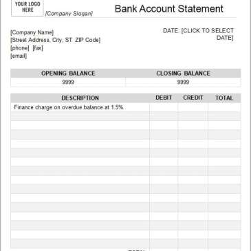 Blank bank statement template ukrandiffusion editable bank statement template archives word templates maxwellsz