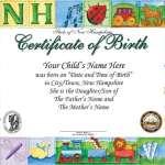 8+ Birth Certificate Templates