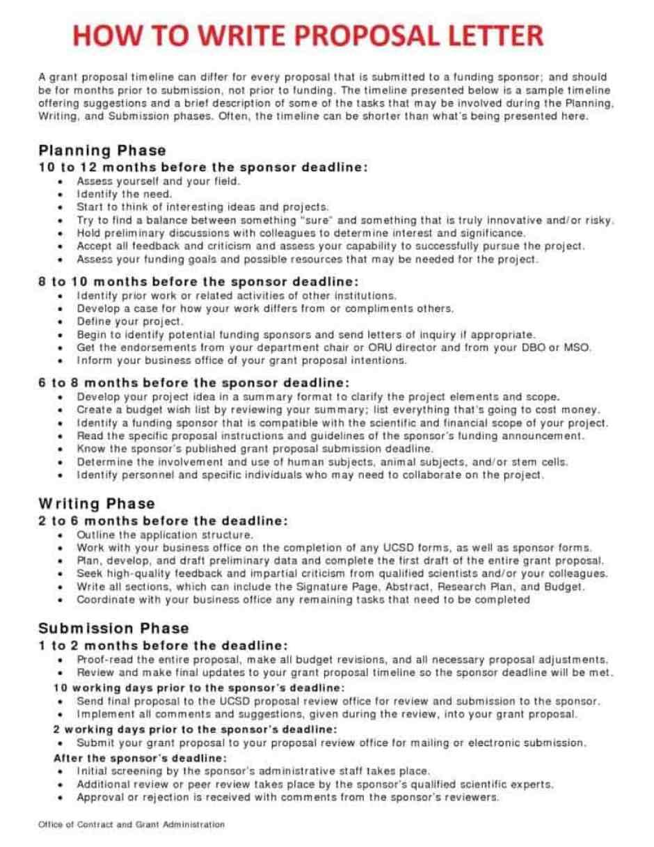 business proposal letter 7 - Proposal Sample