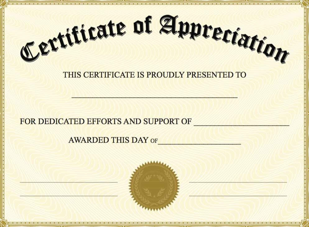 certificate of appreciation image 7