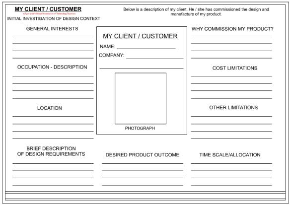 client information sheet template 4