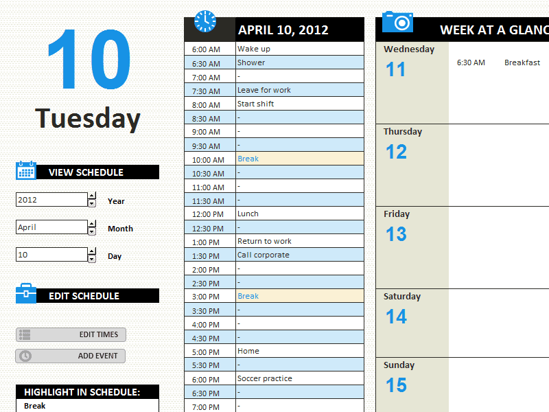 Editable Daily Work Log Sample For Free
