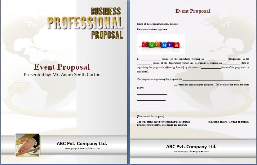 sample event proposal