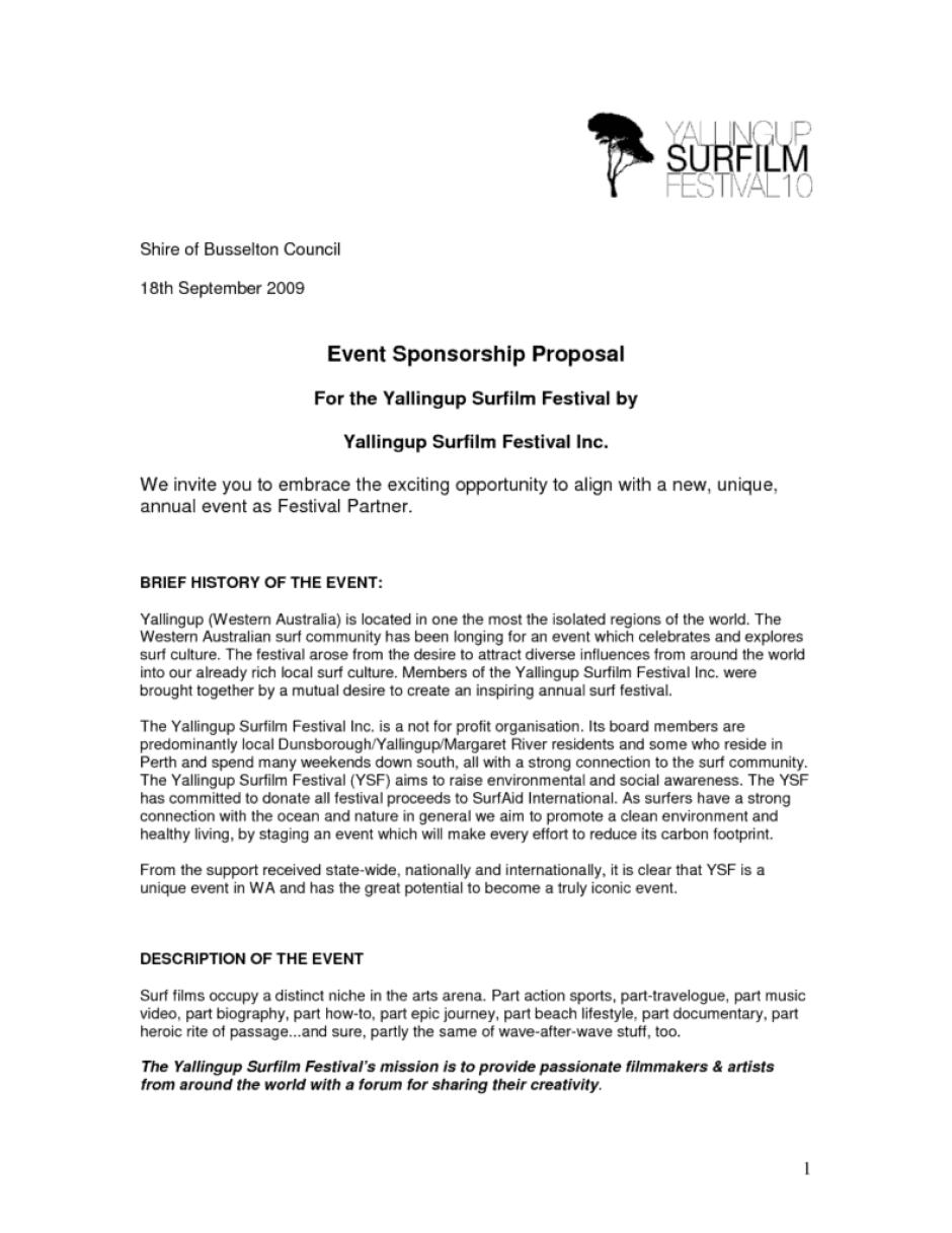 11 event proposal sample templates word excel pdf formats microsoft word event proposal sample template stopboris Choice Image
