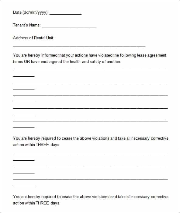 7+ Eviction notice Templates - Word Excel PDF Formats