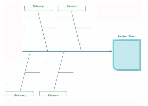 Fishbone Diagram Templates  Word Excel Pdf Formats