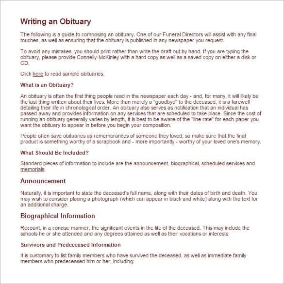 obituary template image 8