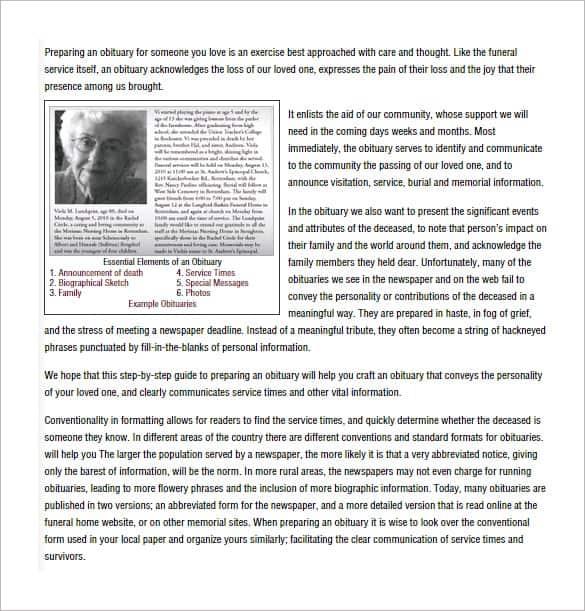 obituary template image 9